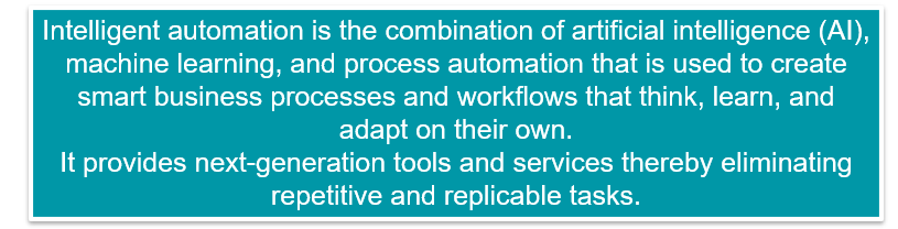 So, what exactly is Intelligent Automation